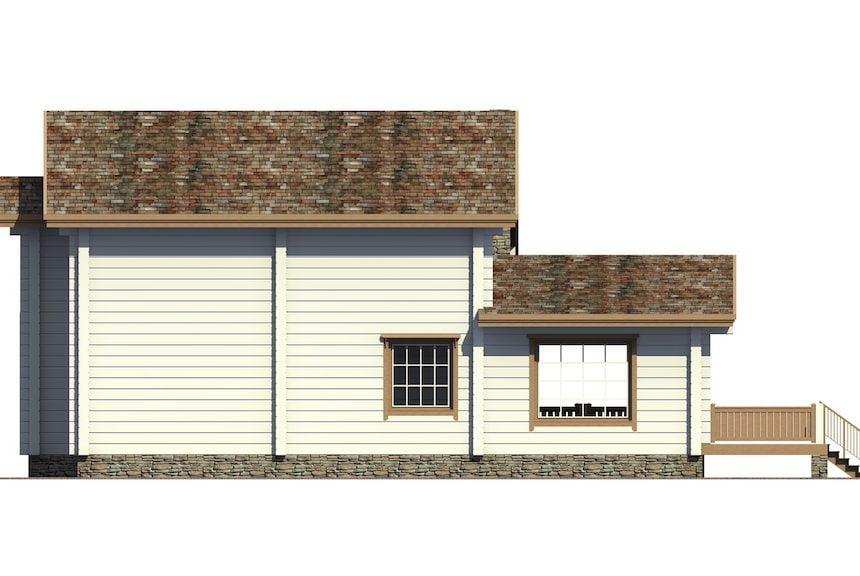 деревянные дома для дачи