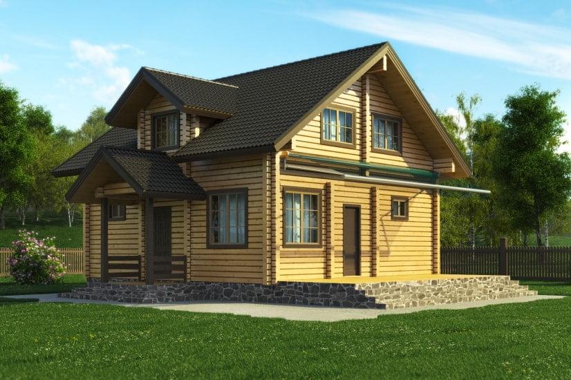 деревянные дома фото снаружи