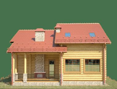 дом из бревна проекты и цены