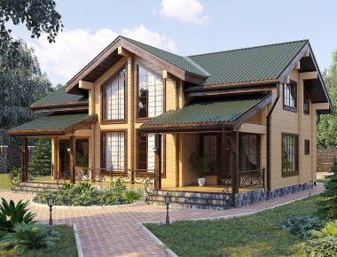 дом из профилированного бруса цена