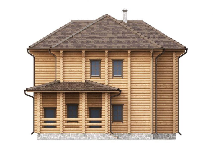 срубы домов из бревна от производителя недорого